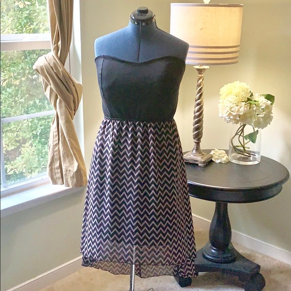 Dresses & Skirts - 🌺Strapless High Low Dress NWT Size 3X